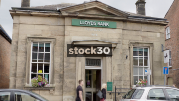 Lloyds Bank In Knutsford, UK
