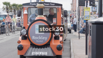 Poole Park And Town Tour Street Train, UK