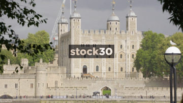 The Tower Of London From Potters Fields Park, UK