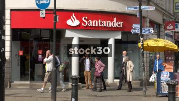 Santander, Manchester, UK