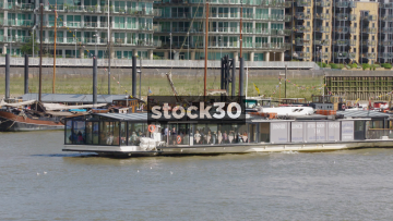 Bateaux Cruises On The River Thames In London, UK