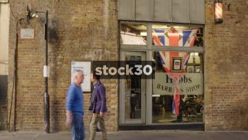 Hobbs Barbers Shop In London, UK