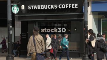 Starbucks Coffee, Manchester, UK