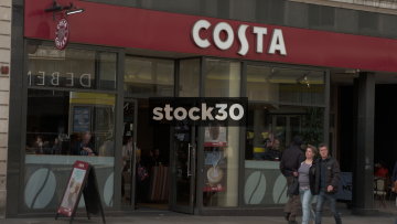 Costa Coffee, Manchester, UK