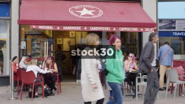 Pret A Manger In Uxbridge, UK