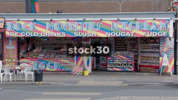 Blackpool Rock Novelties And I Love Food Shops, UK