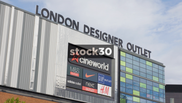 London Designer Outlet At Wembley In London, UK