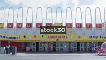 Golden Mile Amusements Arcade, Blackpool, UK