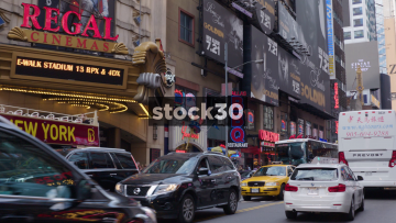 West 42nd Street In New York City
