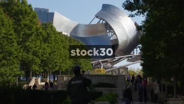 Jay Pritzker Pavilion In Chicago, USA