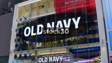 Old Navy Store In Times Square, New York City, USA